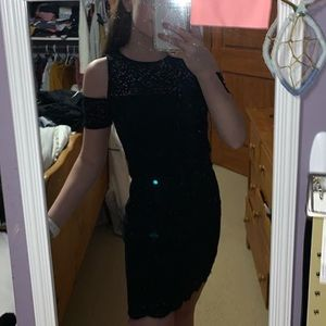 Cut out shoulder bodycon dress from hollister